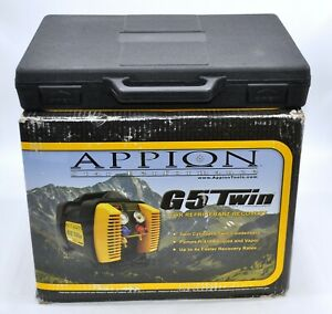 Appion G5 Refrigerant Recovery Machine Bcs 40 Scale Hvac Ac Air Condition Tool
