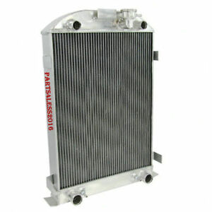 Aluminum 3 Row Radiator Fits 1930 1931 Ford Model a Flathead Engine 28 h Overall