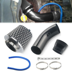 Universal Car Cold Air Intake Filter Alumimum Induction Kit Pipe Hose System As