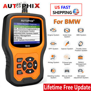 For Bmw Obd2 Scanner Car Code Reader Tpms Abs Sas Epb Oil Reset Diagnostic Tool
