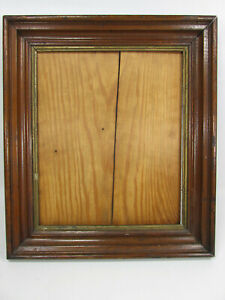 Antique Picture Frame Deep Batwing Gold Victorian Eastlake Holds 10 X 12