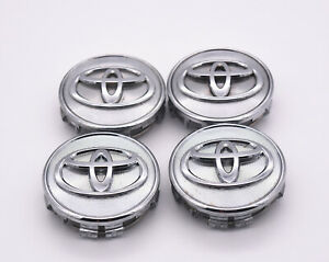 Toyota Center Caps 62mm Fits Camry Corolla Sienna Highlander And More 4 Pcs