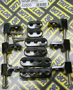 Taylor 42500 Black 7 8mm Clamp Style Spark Plug Wire Separators