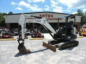 2013 Bobcat E32 Excavator Good Condition Watch Video Only 1245 Hours