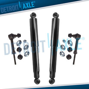 2008 2014 2015 Chevy Equinox Gmc Terrain Torrent Rear Shocks Absorbers Sway Bars
