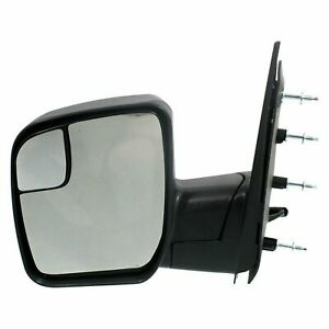 Power Mirror Left Driver Side For 2009 2014 Ford E 150 Fo1320396 Textured Black