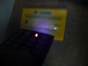Monacor Infrared Ir Remote Tester Detector Card Test Your Remote If Working