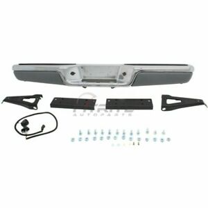 Rear Step Bumper Assembly Made Of Steel For 1997 2004 Dodge Dakota Ch1103103