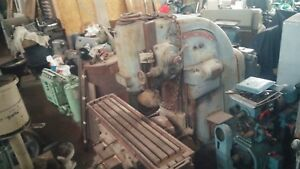 Cincinnati No 3 Vertical Milling Table 62 X 15 Power Feeds Etc