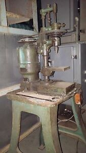 High Speed Hammer Co Bench Top Drill Press R 53 Vintage With Stand