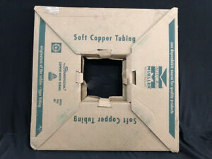 Mueller Industries Ks 02060 Coil Copper Water Tubing 1 4 X 60 Ft Coil New Roll
