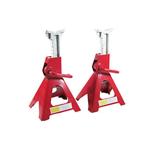 Ratcheting Jack Stands 6 Ton Capacity One Pair Of Jack Stands 20 Js6 1