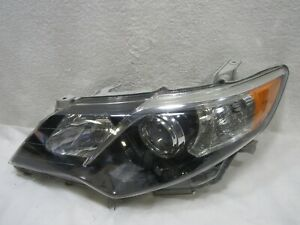 2012 2013 2014 Toyota 12 14 Camry Se Left Halogen Headlight Headlamp Oem A3407