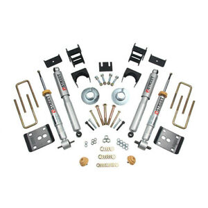 Belltech Lowering Kit For 2014 Ford F 150 Std Cab Short Bed 1 To 3 F 4 R