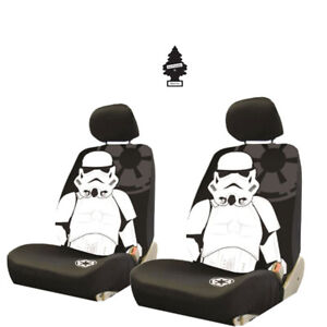 For Subaru Star Wars Stormtrooper 3pc Car Seat Cover With Keychain Set