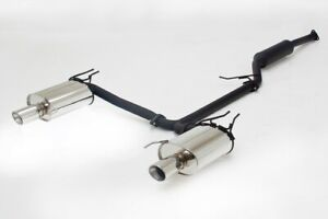 Apexi Ws2 Catback Exhaust For 04 08 Acura Tsx 116 kh30