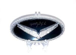 Front Crystallized Emblem For Hyundai Veloster Car Bling W Swarovski Crystals