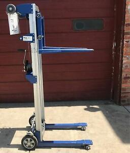 Vestil T s A lift r Fixed Straddle Hand Winch Lift Manual Forklift Free Shipping