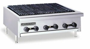 American Range Arrb 36 36in Commercial Radiant Gas Char Broiler