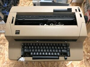 2 X Vintage Ibm Correcting Selectric Iii Typewriter For Parts Plus 12 Balls