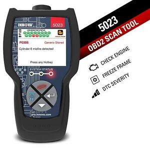 Innova 5023 Pro Carscan Code Reader For Obd2 With Freeze Frame new