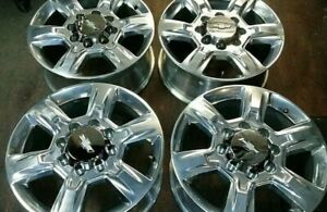 2018 2019 Chevy Silverado 2500 3500 Hd 20 Factory Oem Alloy Wheels Rims 5803