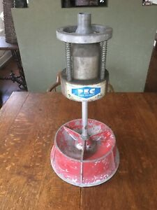 Vintage Wheel Tire Bubble Balancer Machine By Perfect Equipment Corp Pec