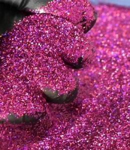 Fuchsia Pink Holographic Metal Flake Glitter 0 008 008 Painting Crafting Hotrod