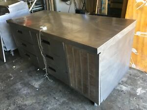Delfield 18672bucm Refrigerated 6 Drawer Work Table