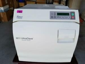 Midmark Ritter M11 Ultraclave Automatic Instrument Sterilizer Only 1967 Cycles