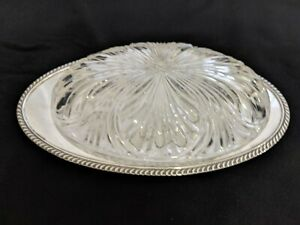 Oneida Ltd Silverplate Oval Tray Plate 10 Long