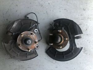 1996 04 Ford Mustang Set Left Right 5 Lug Spindles Fox 79 93 Oem