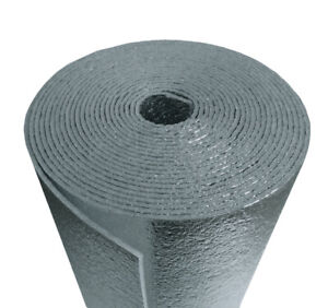 Us Energy 5mm Reflective Foam Core Insulation Radiant Barrier 24 x25ft Roll