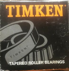 Timken 554 Tapered Roller Bearing Single Cone New Open Box