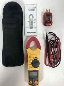 Sperry Dsa 540a Digital Snap around Clamp Meter W manual