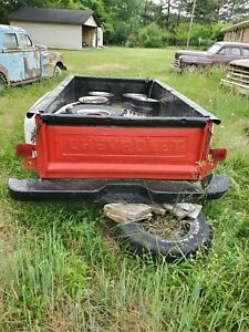 1967 1972 Chevy Pickup Truck Bed Trailer Long Step Side Rat Rod Hot Rod