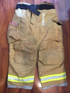 Firefighter Bunker Turnout Gear Pants Globe 42x28 G Extreme Costume 2008