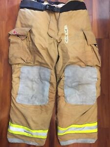 Firefighter Bunker Turnout Gear Pants Globe 42x30 G Extreme Costume 2008