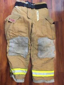 Firefighter Bunker Turnout Gear Pants Globe 36x30 G Extreme Costume 2008