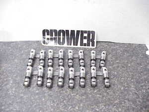 16 Crower 842 High Seat Solid Roller Lifters For Sb Chevy Ump Nhra Imca J6