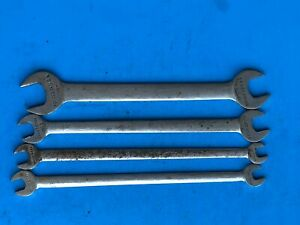 Vintage Craftsman Sae V Open End Thin Tappet Wrench Usa