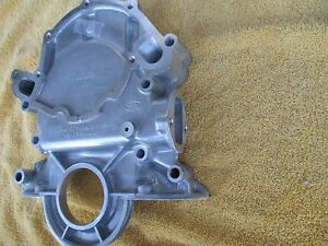 New Ford Mustang 5 0 302 351w Timing Cover W diptube Hole Fuel Pump Mount 255