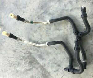 2000 2005 Ford Excursion V10 6 8l Gas Heater Core Hoses Oem Qty 2