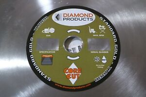Diamond Products Core Cut 16 Wet Dry General Purpose Concrete Turbo Saw Blade