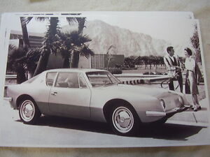 1963 Studebaker Avanti Plam Springs 11 X 17 Photo Picture