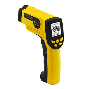 Non contact Lcd Digital Infrared Ir Thermometer High Temperature Gun 50 1300