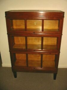 Antique Macey Wood Barrister Book Case