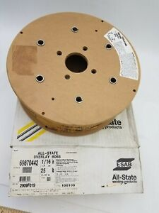 Esab All State Overlay 6065 1 16 25lbs 69870442 New Welding Wire A s 1 16x25