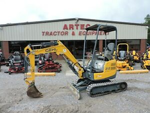 2013 Gehl Z17 Excavator 2 Speed very Nice Watch Video Only 72 Hours
