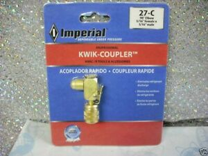 R410a R 410a Imperial Kwik coupler made In The Usa